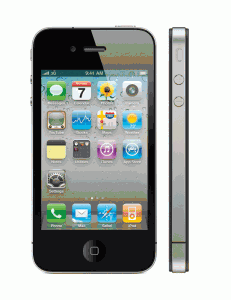 iPhone 4 2-up Front Side
